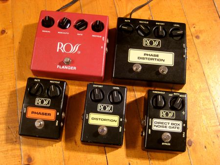 Ross Guitar Pedals Like Many Ross Pedals
